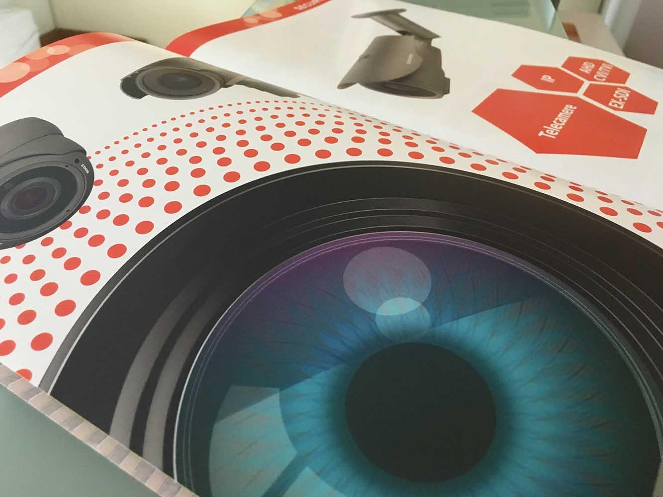 realizzazione catalogo Spotvision Asti