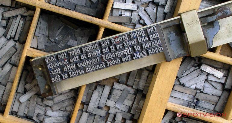 Tipografia e stampa